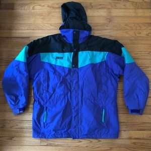 VINTAGE 90s COLUMBIA SPORTSWEAR GRAPE JACKET